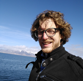 Aaron Knoll, in Iceland