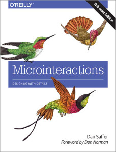 microinteractions by Dan Saffer