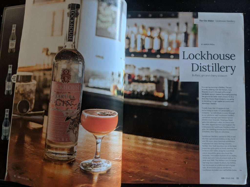 Writing Portfolio— Lockhouse Distillery, Gin Magazine 1